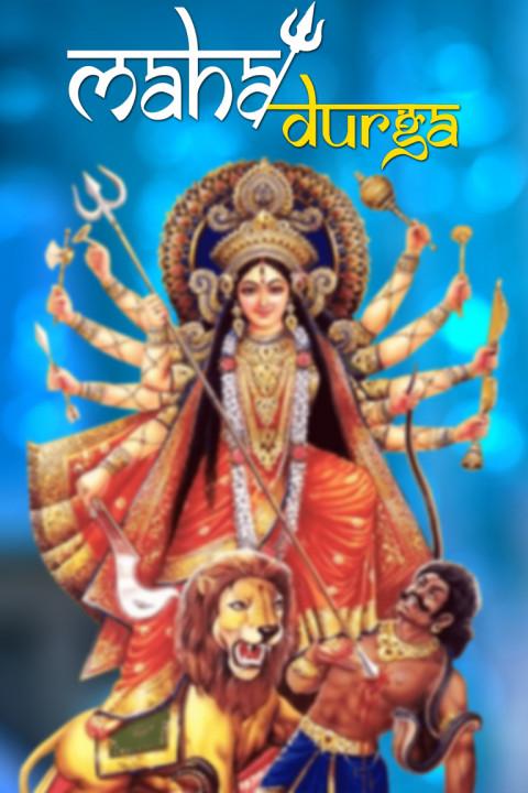 Happy Dussehra Navratri - Na