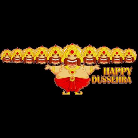 Happy Dusshera PNG - Navratr