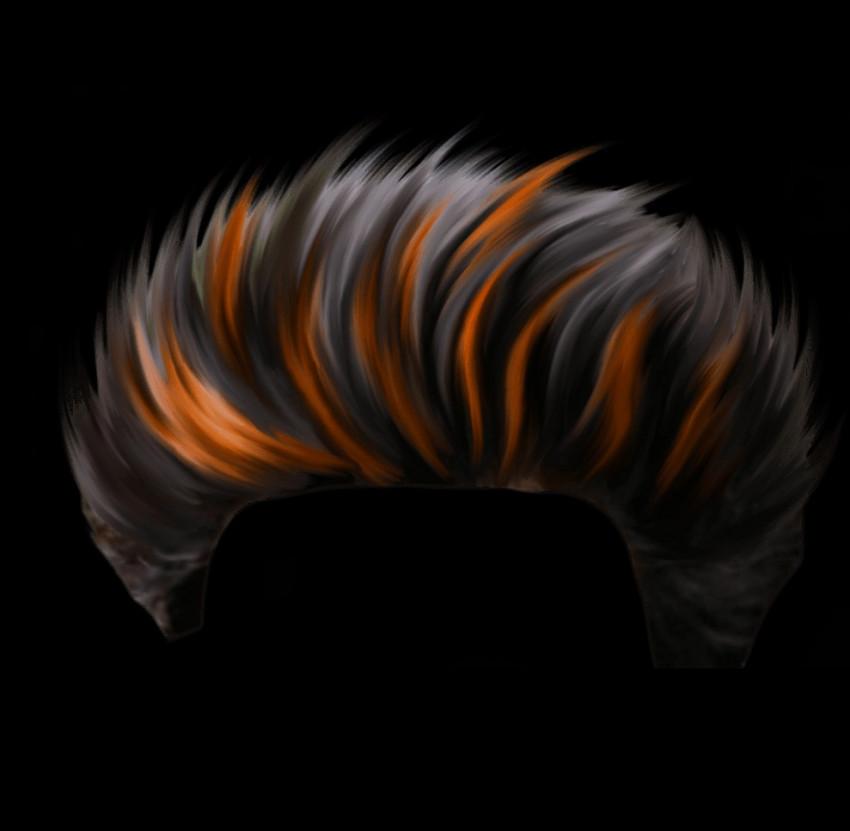 CB Hair PNG - Editing