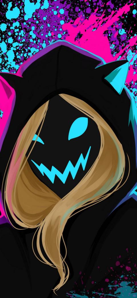 Anonymous Mask Man Amoled Wa