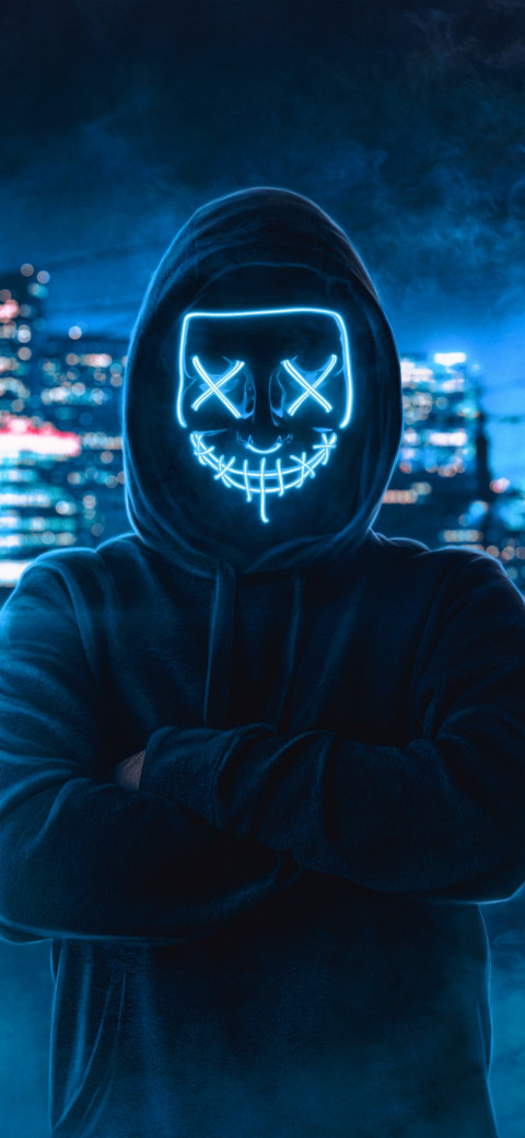 Anonymous mask Man Wallpaper HD - Hacker (1) | image free ...