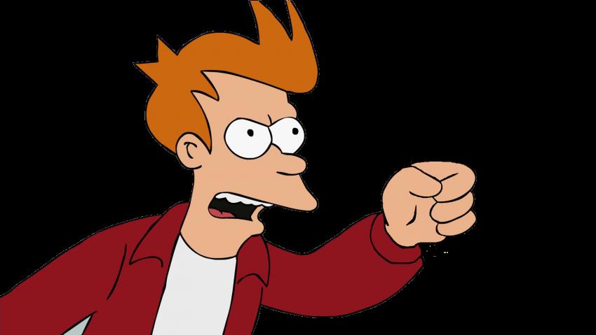Bender Futurama Fry PNG Imag