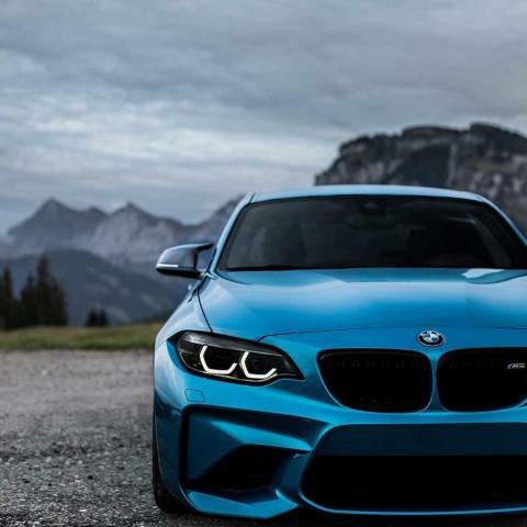 Blue Car CB PicsArt Editing