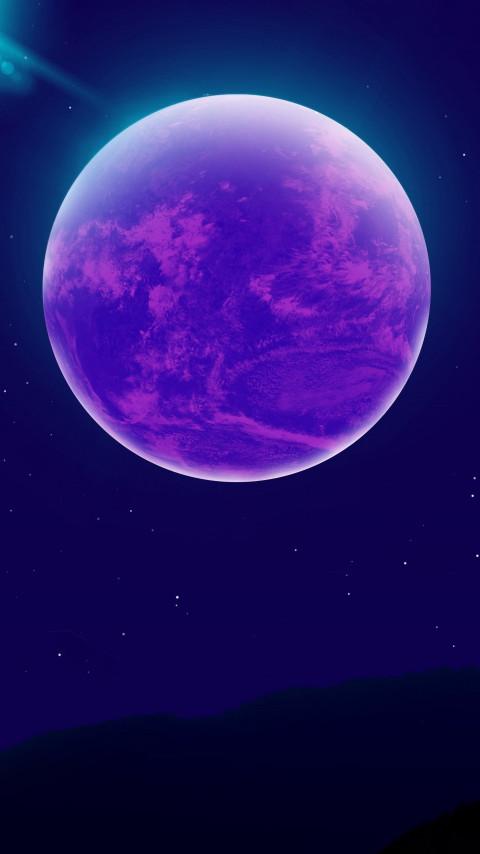 Blue Moon amoled display wal