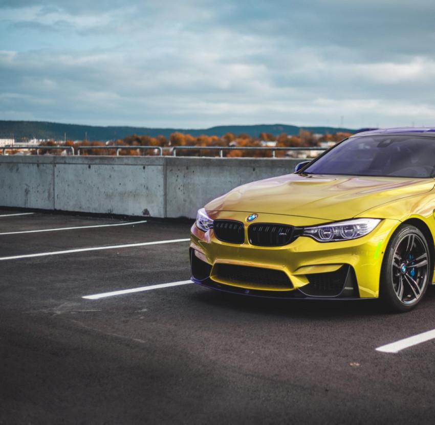 Car Yellow PicsArt Editing B