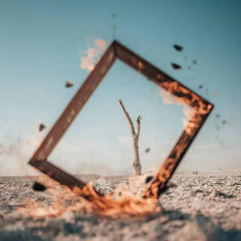 CB Frame in Sand Viral Editi