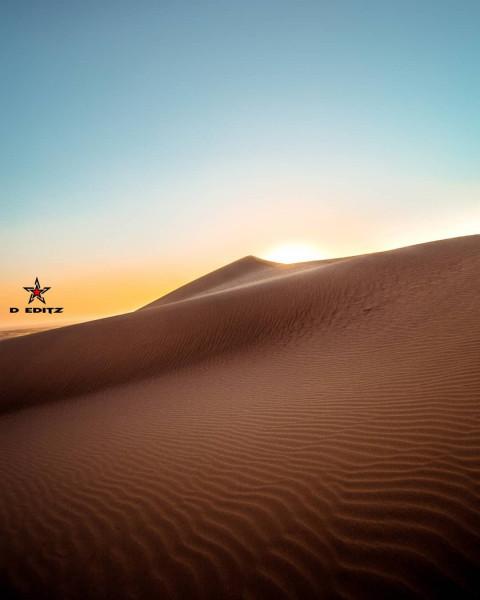 Desert Sands Editing Backgro