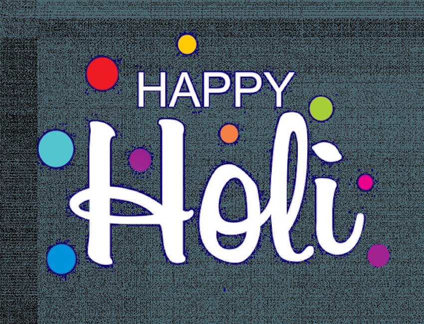 Happy Holi Hai Editing PNG F