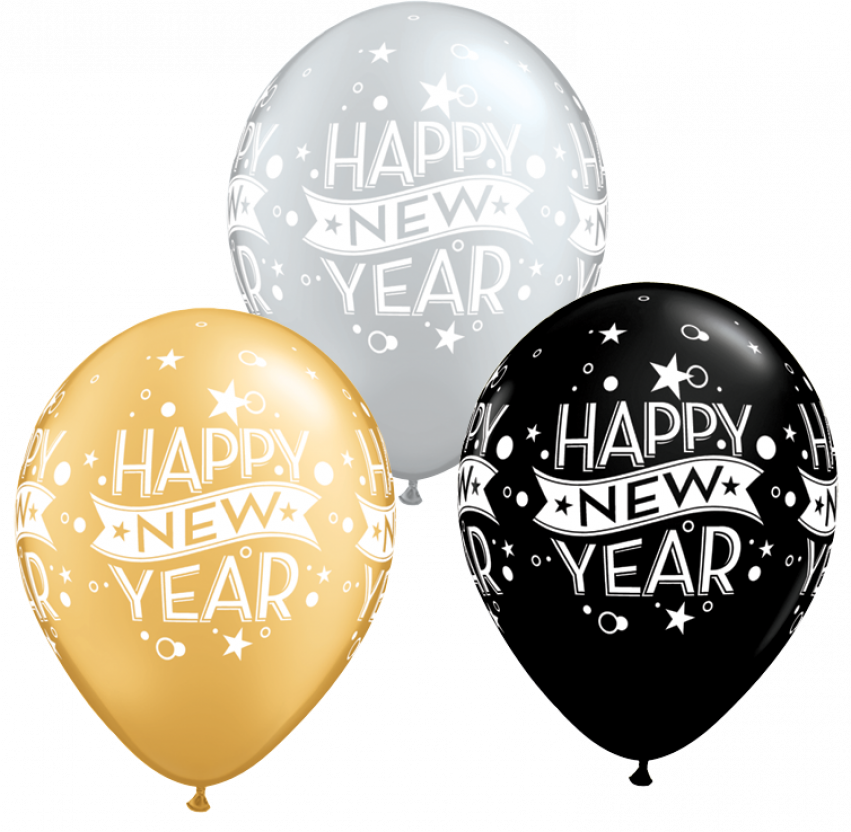 Happy New Year Png HD Vector