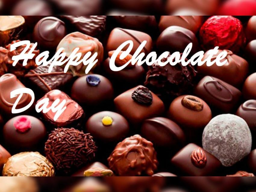 Happy Chocolate Day for Cute