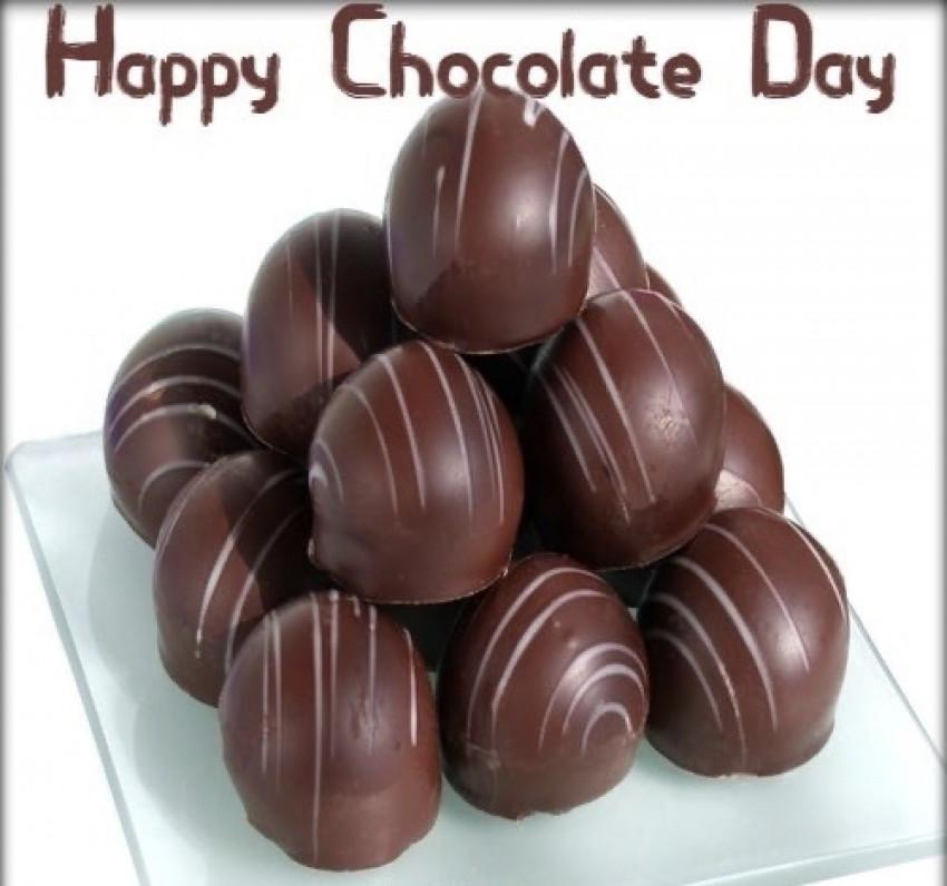 Happy Chocolate Day Wish Ima