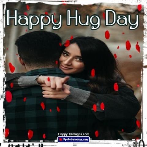 Happy Hug Day Wish for Baby