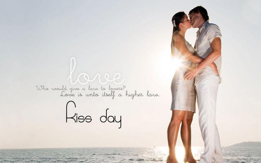 Happy Kiss Day - Valentine's