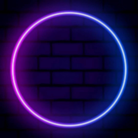 Viral neon ring Editing Back