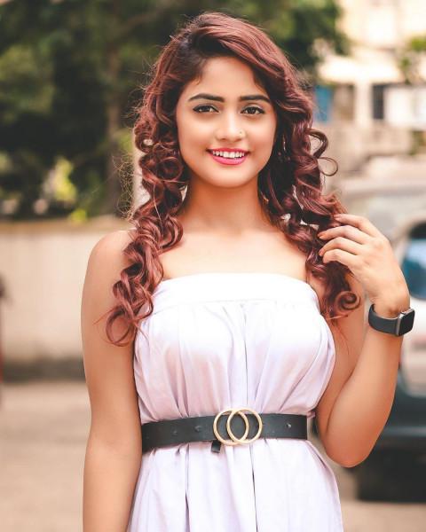 Nisha Guragain White dress C