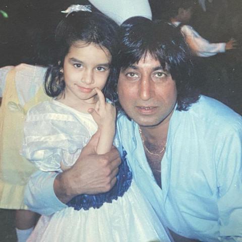 Shraddha Kapoor Childhood wi