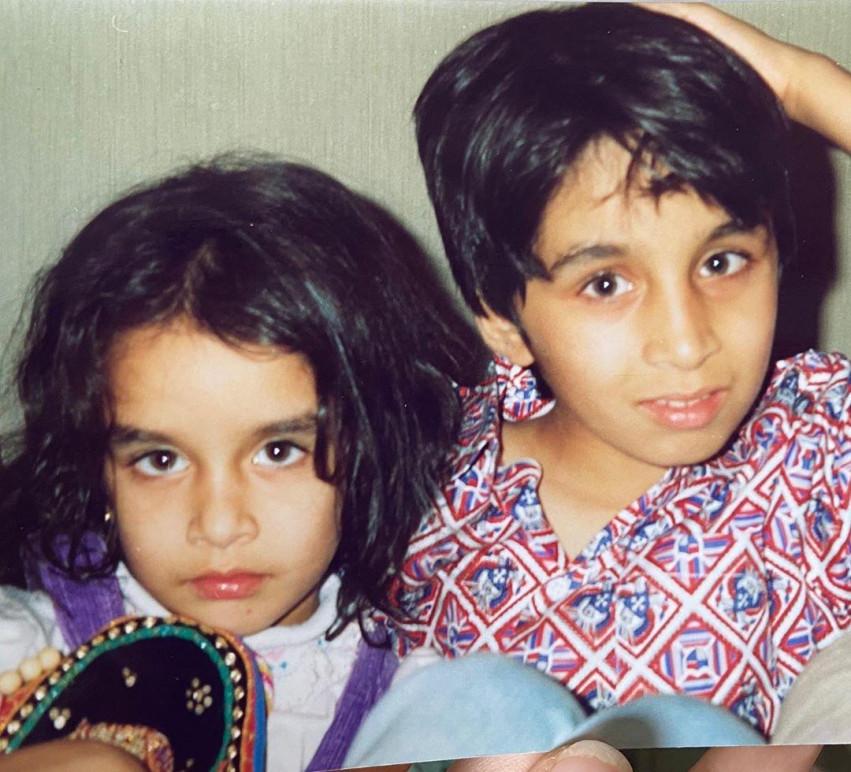 Shraddha Kapoor Childhood Cu