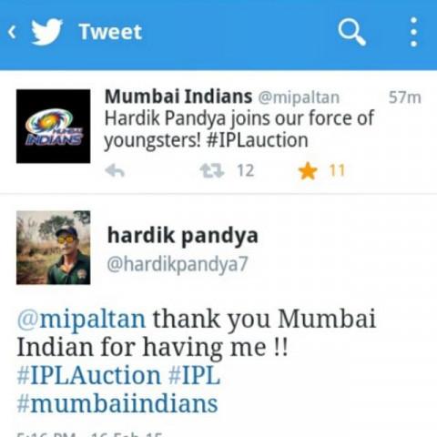 Hardik Pandya HD Photos Wall