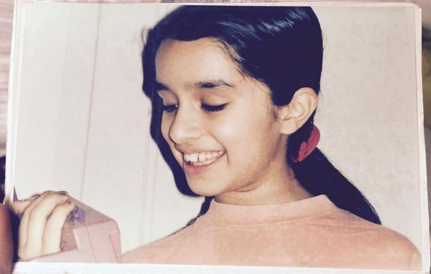 shraddha kapoor childhood, s