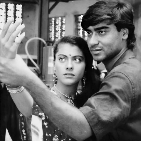 Ajay Devgn with Kajol Old hd