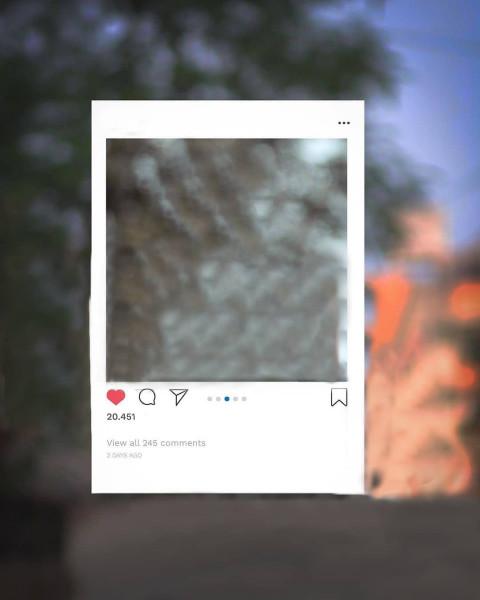 Instagram Viral frame Editin