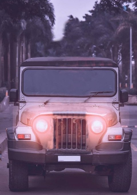 Jeep Car Editing background