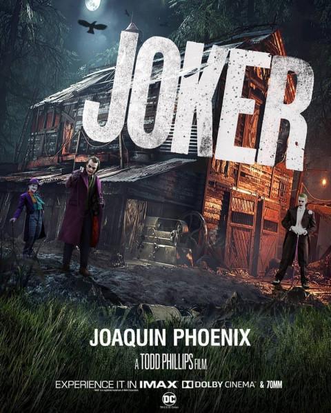 Joker Editing Background - Movie Poster