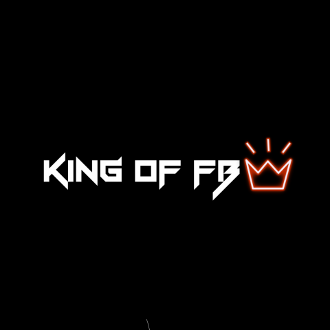 King of fb Neon Effect PNG T