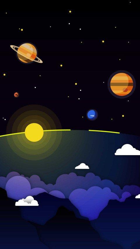 Minimal-Solar-System-Clouds-