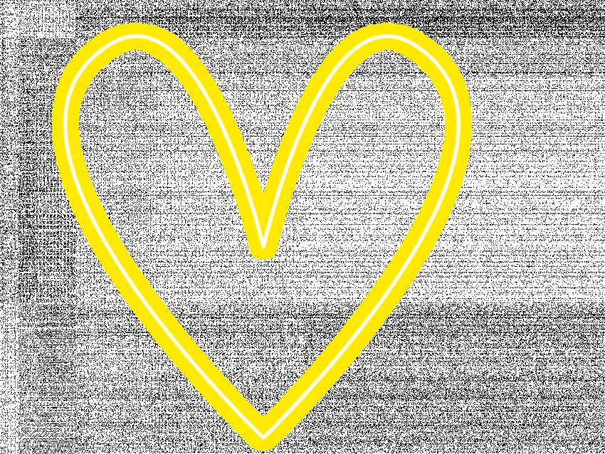 Neon Glowing Heart PNG Neon