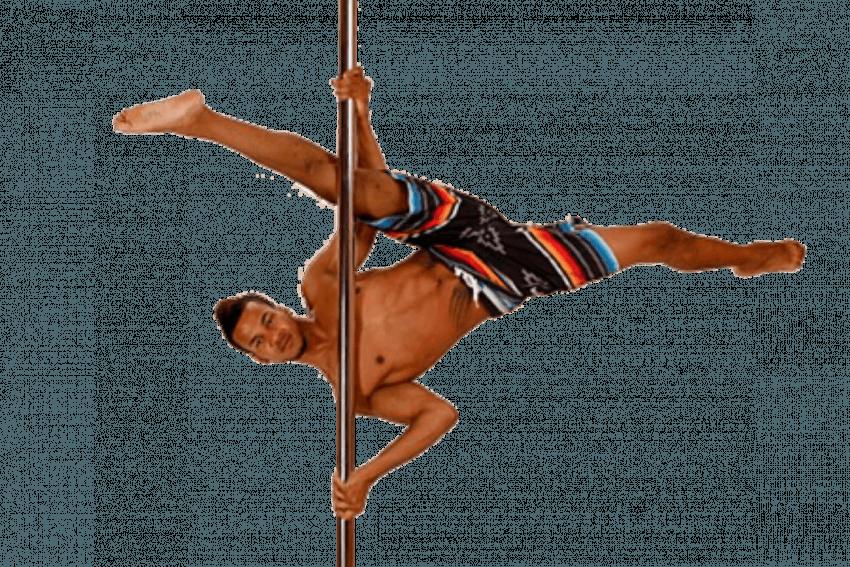 Pole Dance Lady PNG  (69)