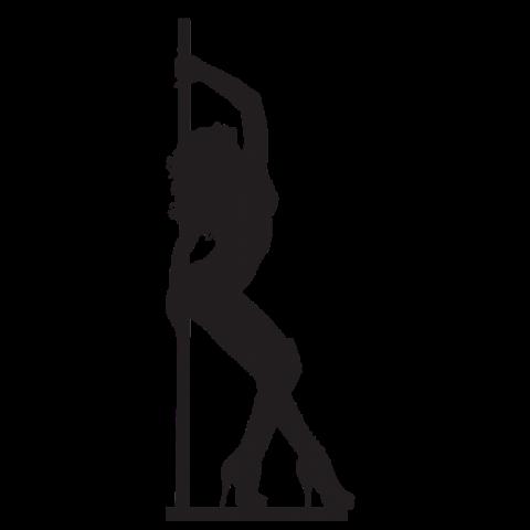 Pole Dance Lady PNG  (81)