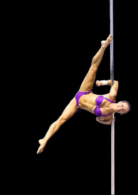 Pole Dance Lady PNG  (91)