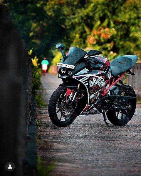 Racer bike motorcycle natura