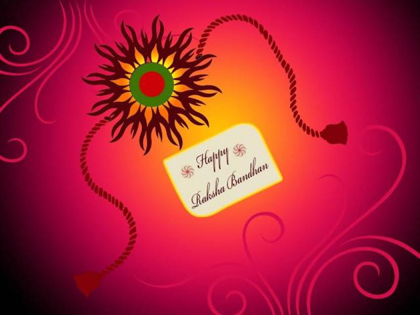 Happy Raksha Bandhan Rakhi W