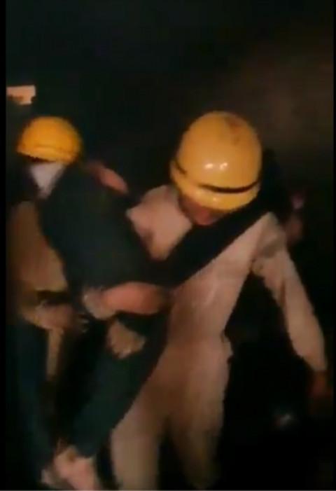 Real Delhi Fire News Anaj ma