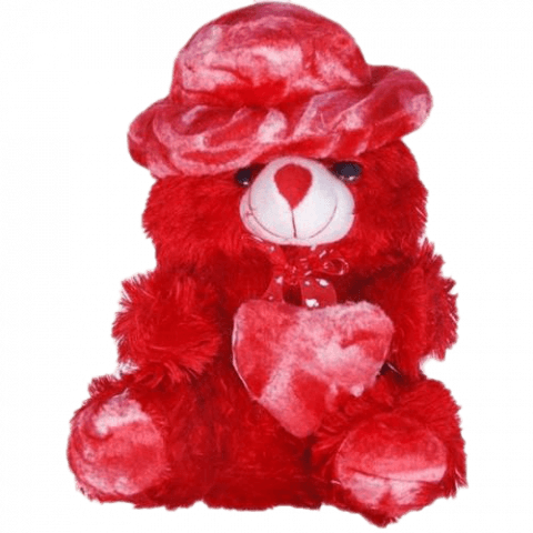 Red Teddy Bear PNG Image Ful