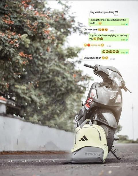School College Boy Scooty Ch