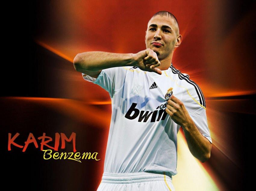 Karim Benzama Real Madrid Wa