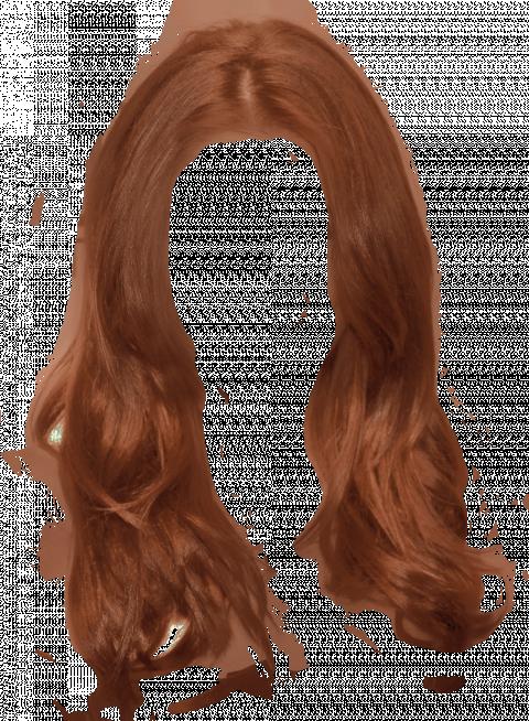 Brown Women's Hair Png HD -