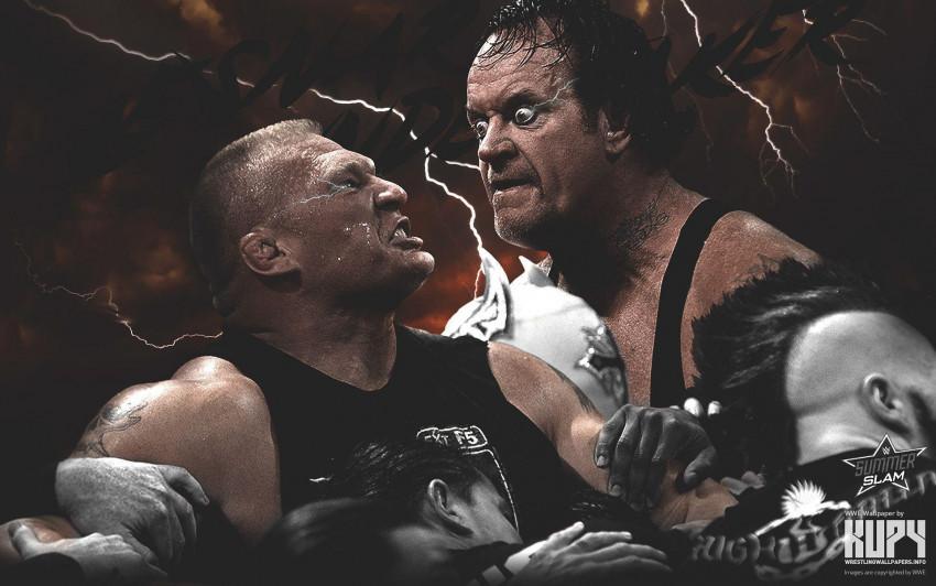 John Cena vs Undertaker Wall
