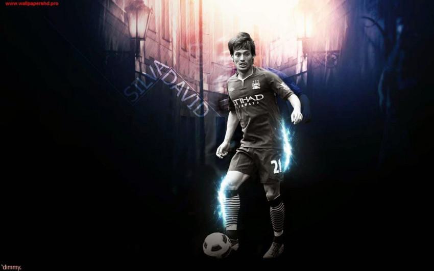 DAVID SILVA footballer Wallp