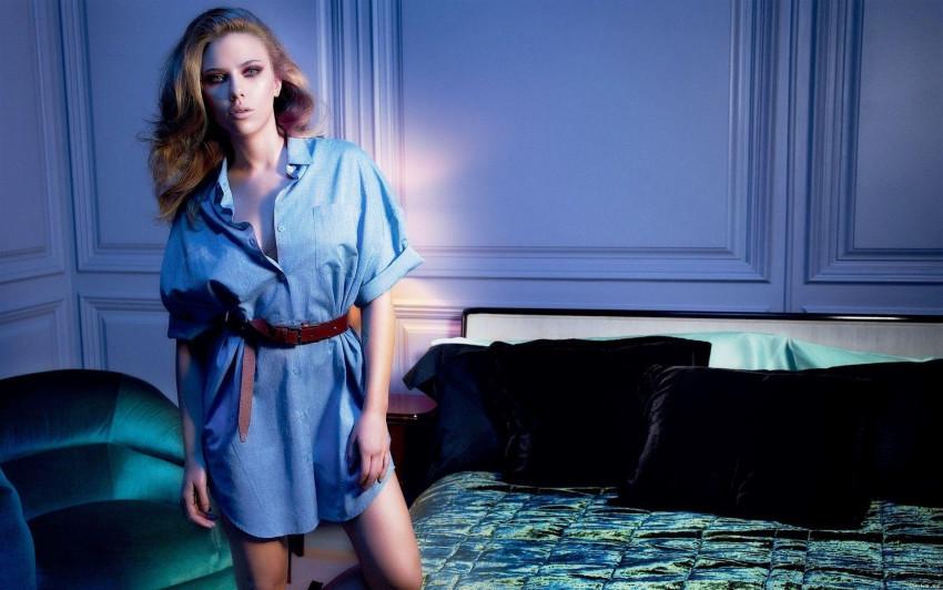 Scarlett Johansson widescree