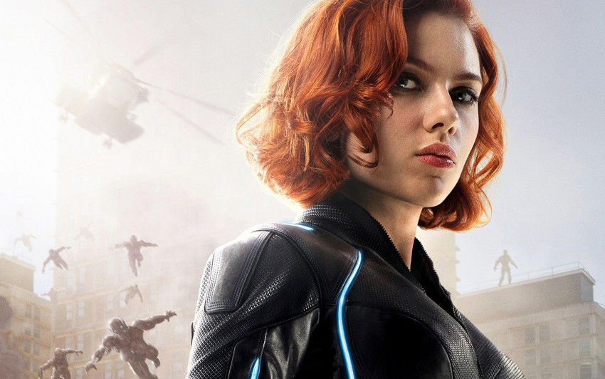 Scarlett Johansson Black Wid