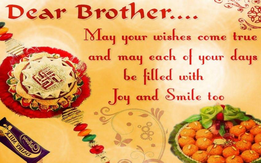 Happy Rakhi Wishes Wallpaper