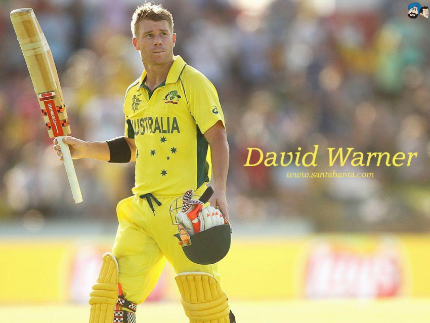 David Warner IPL Wallpapers