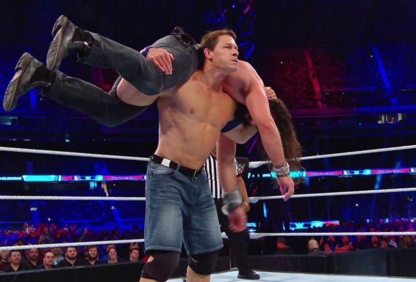John Cena WWE Wrestlemania 3