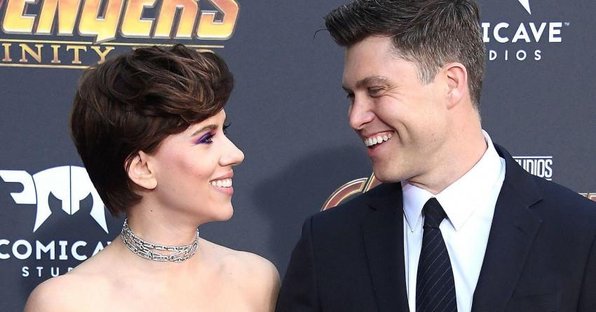 Scarlett Johansson and Colin