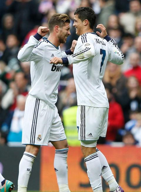 Cristiano Ronaldo And Sergio