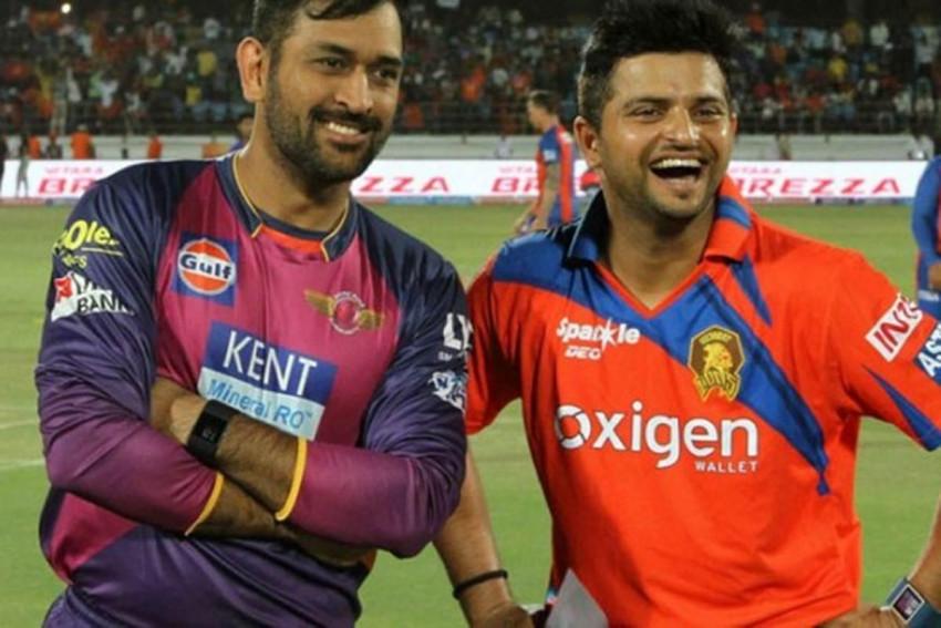 Suresh Raina and MS dhoni Wa